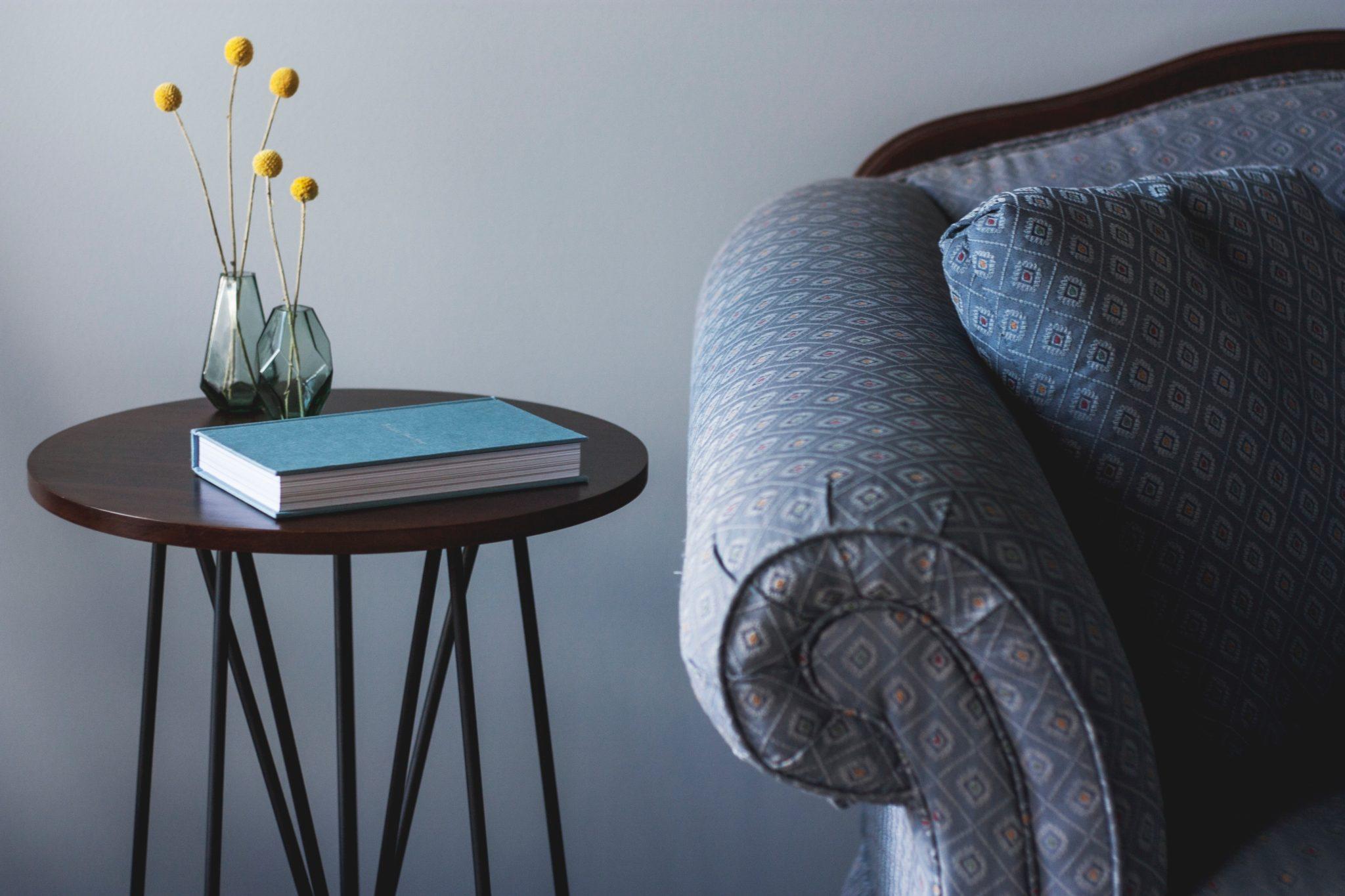 Home Staging Wohnzimmer Immobilie verkaufen