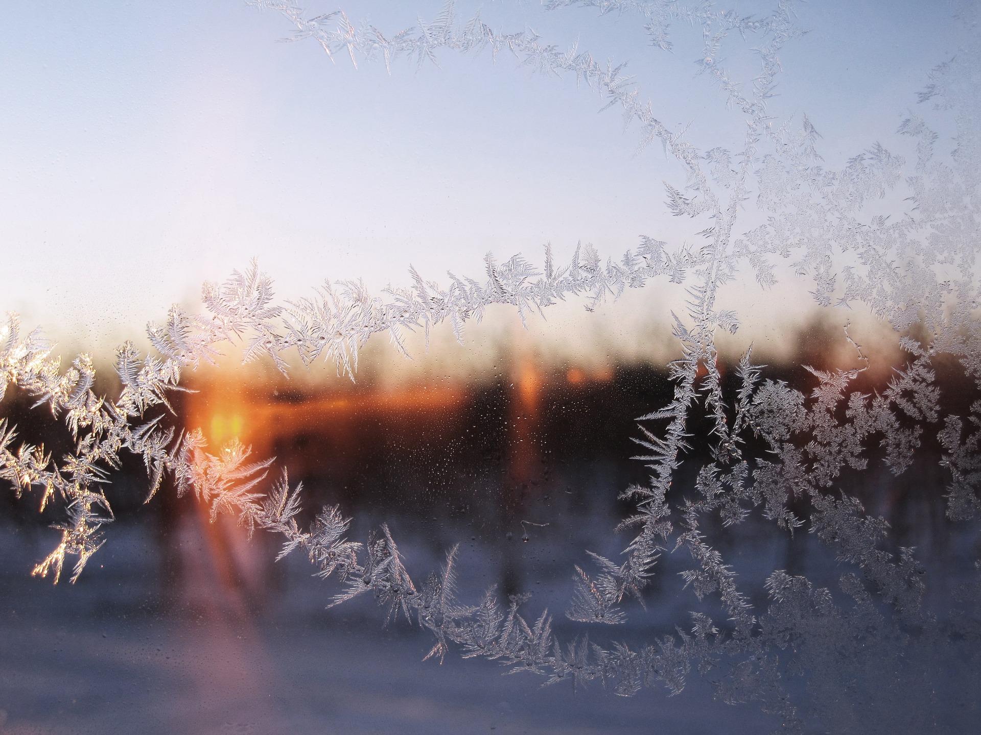 Richtig heizen im Winter Winterlandschaft