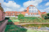 Harenberg: ETW - 55 m² + Balkon | Bj. des MFH: 2000 | TG-Stellplatz mit Hauszugang + Kellerraum uvm. - Grünanlage mit Gartenteich