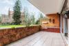 Ricklingen: 96 m² Parterre-Whg. | Tiefgarage & Fahrstuhl | riesige Terrasse | elektr. Rolläden uvm. - Terrasse