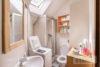 Linden-Mitte: Sehr helle DG-Wohnung | 2 Zimmer | ca. 45 m² Wohnfläche | Kein Sanierungsstau uvm. - Duschbad mit Tageslicht