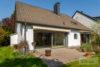 Pulheim-Stommeln: EFH - perfekter Schnitt | viel Ausbaureserve | 2 Garagen | Kamin, Sauna & uvm. - Terrasse auf der Frontseite